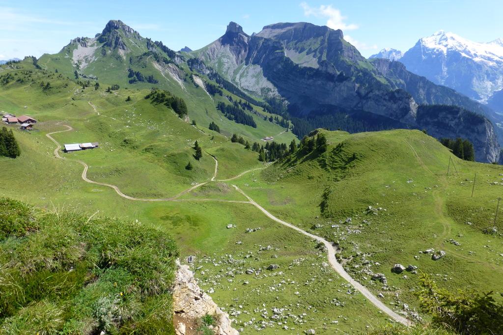 「スイス・アルプス ユングフラウ-アレッチュ」 アルプスの山々とアレッチ氷河を迫力満点で楽しめる世界遺産