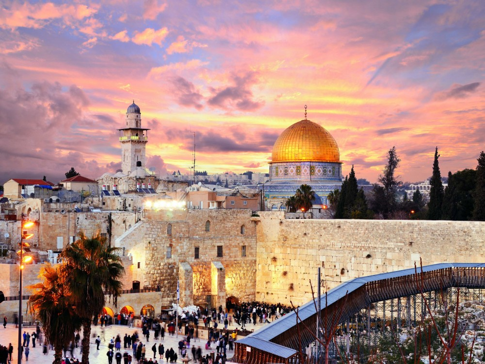 「エルサレムの旧市街とその城壁群」 イスラエルの首都エルサレムは世界3大宗教の聖地
