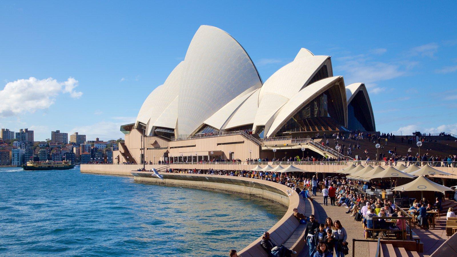 「シドニー・オペラハウス」 真っ白な屋根が特徴的なシドニーのシンボル!
