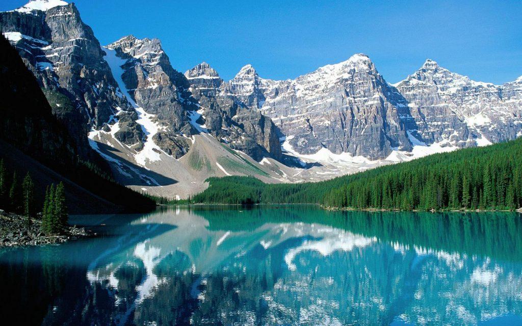 「カナディアン・ロッキー山脈自然公園群」 山々が作り出した絶景の世界遺産