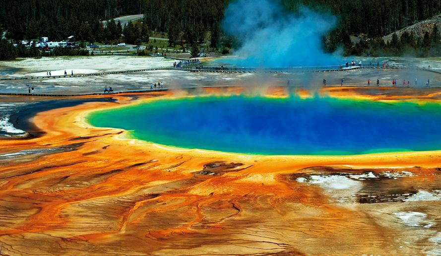 「イエローストーン国立公園」 生きている地球を感じることができる場所