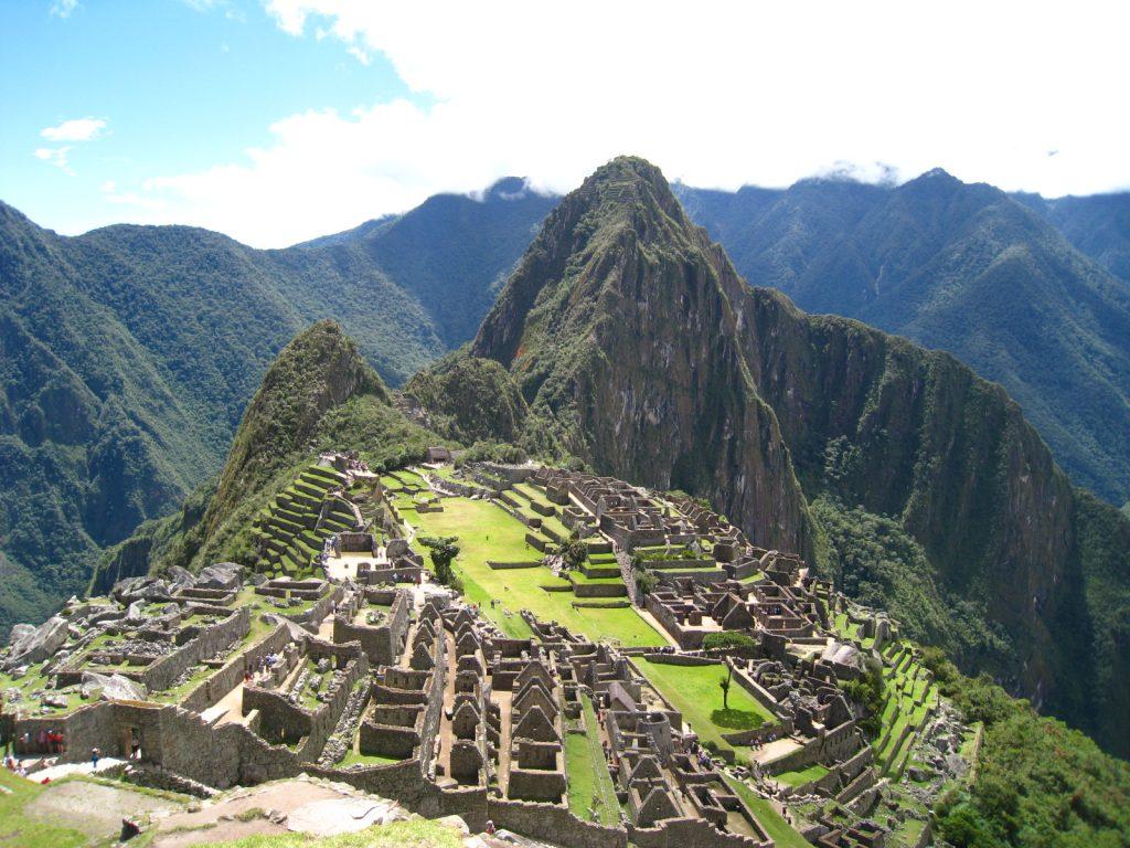 マチュピチュの歴史保護区 天空の城ラピュタのモデル アンデス山脈