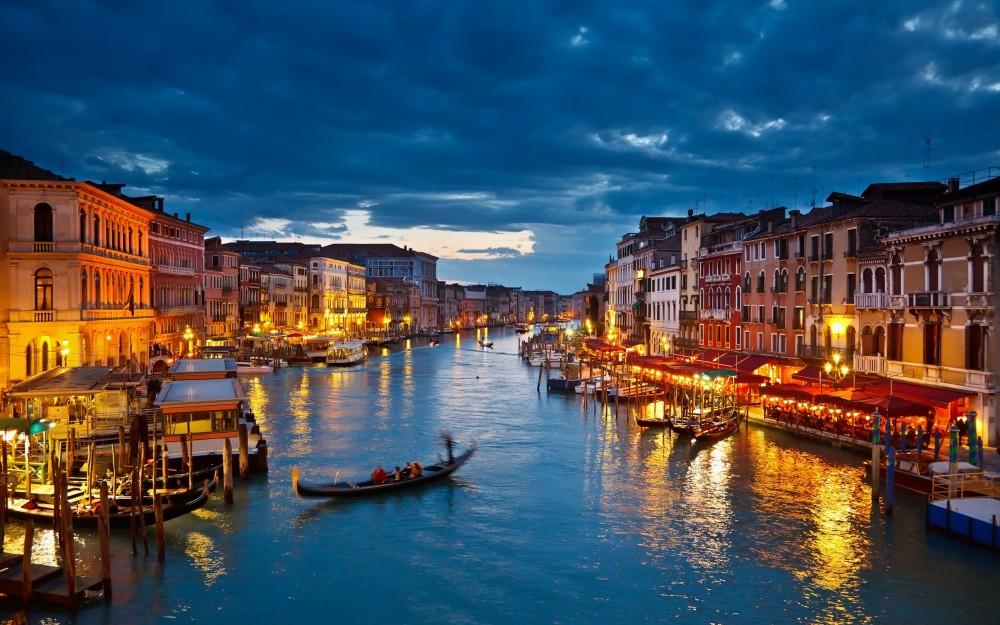 「ヴェネツィアとその潟」 まるで映画のセットのような水の都ヴェネツィア!
